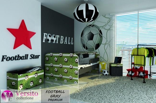 FOOTBALL GRAY PREMIUM