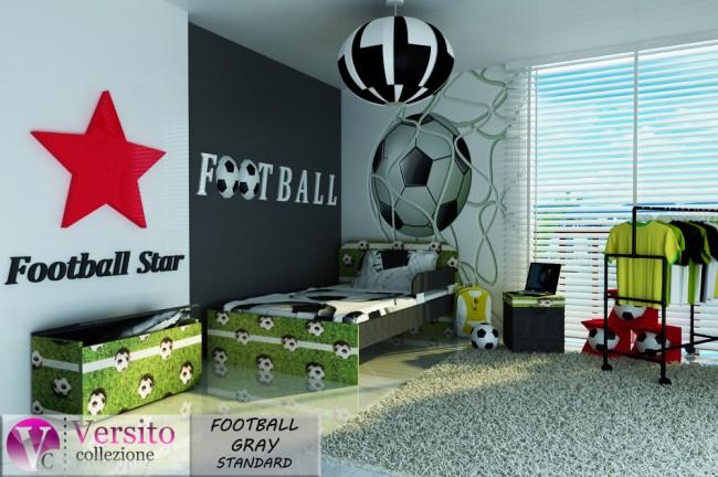 FOOTBALL GRAY STANDARD
