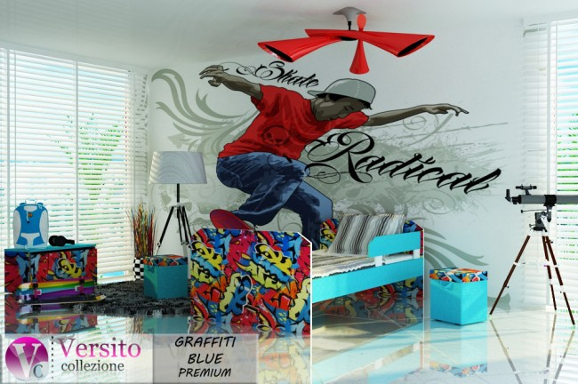 GRAFFITI BLUE PREMIUM