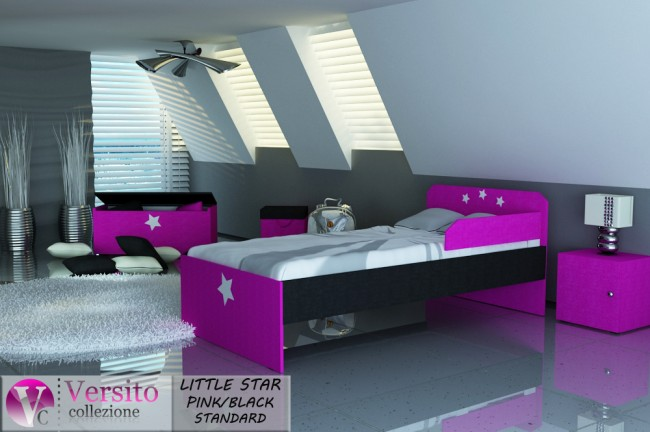 LITTLE STAR PINK-BLACK STANDARD