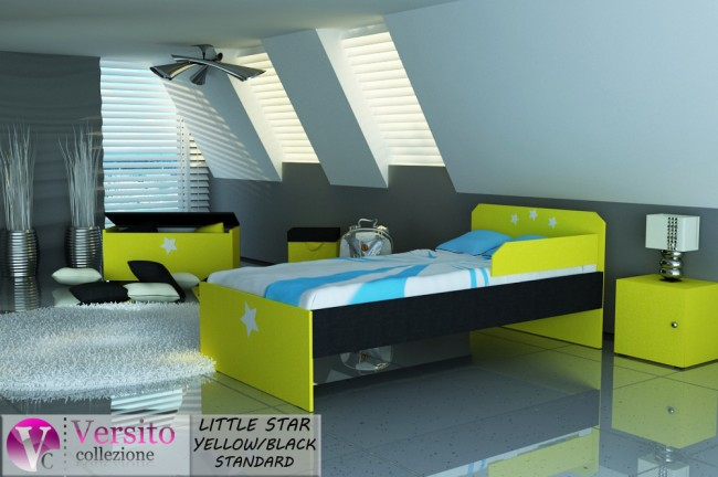 LITTLE STAR YELLOW-BLACK STANDARD
