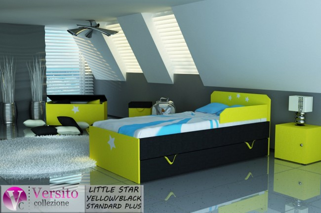LITTLE STAR YELLOW-BLACK STANDARD PLUS