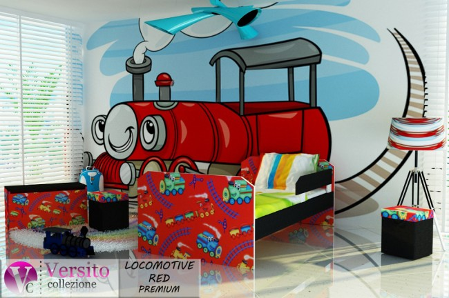 LOCOMOTIVE RED PREMIUM
