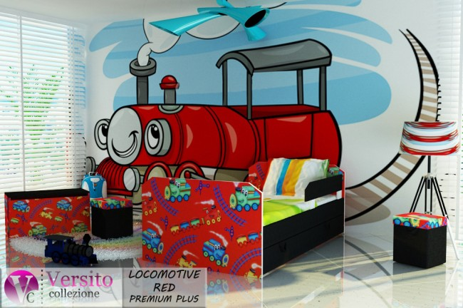 LOCOMOTIVE RED PREMIUM PLUS