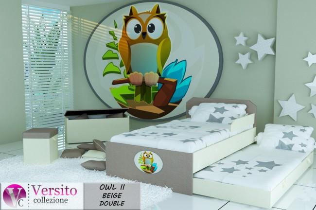 OWL II BEIGE DOUBLE