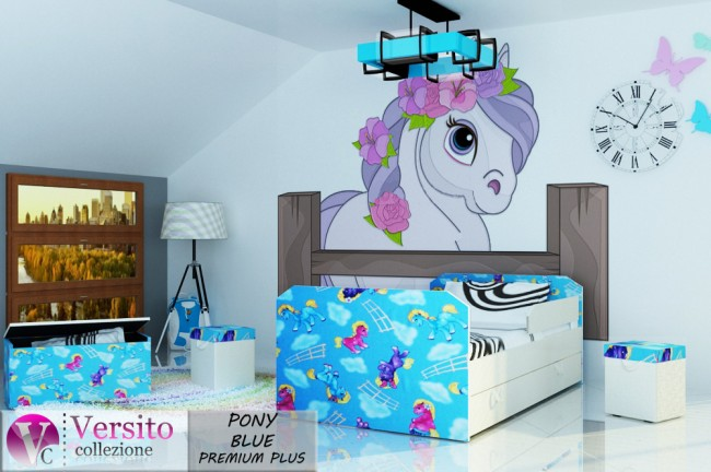 PONY BLUE PREMIUM PLUS