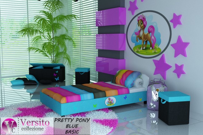 PRETTY PONY BLUE BASIC