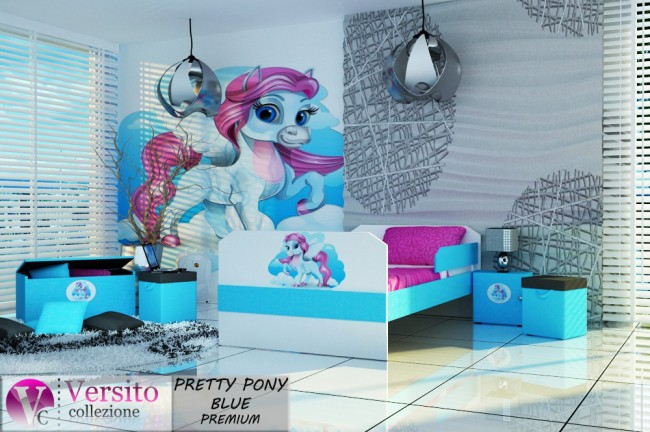 PRETTY PONY BLUE PREMIUM