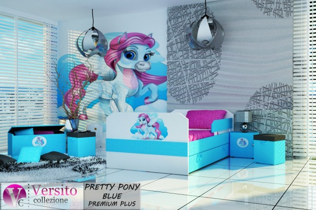 PRETTY PONY BLUE PREMIUM PLUS