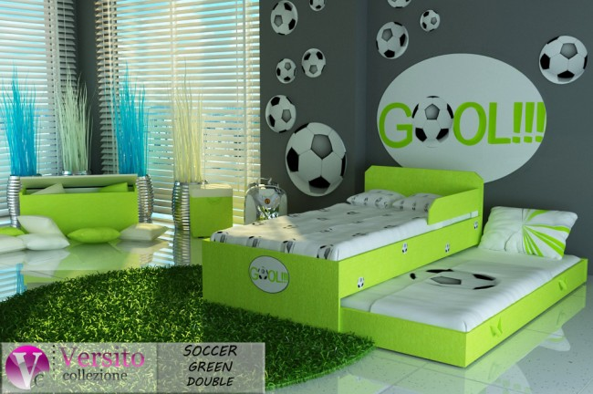 SOCCER GREEN DOUBLE